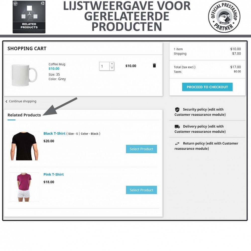 module - Kruisverkoop & Pakketaanbiedingen - Gerelateerde producten - 3