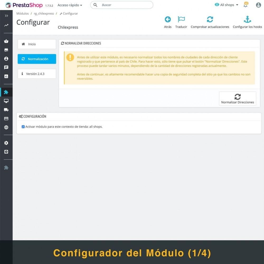 module - Transportistas - Chilexpress - 3