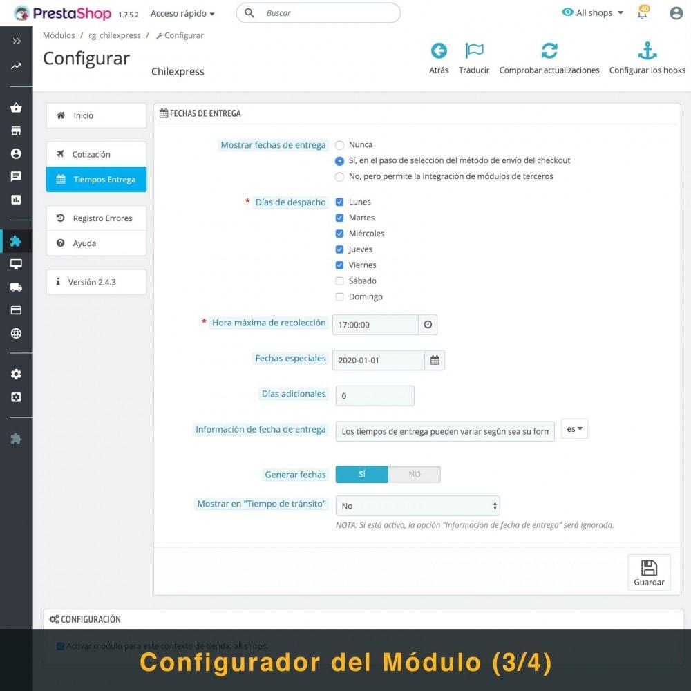 module - Transportistas - Chilexpress - 5
