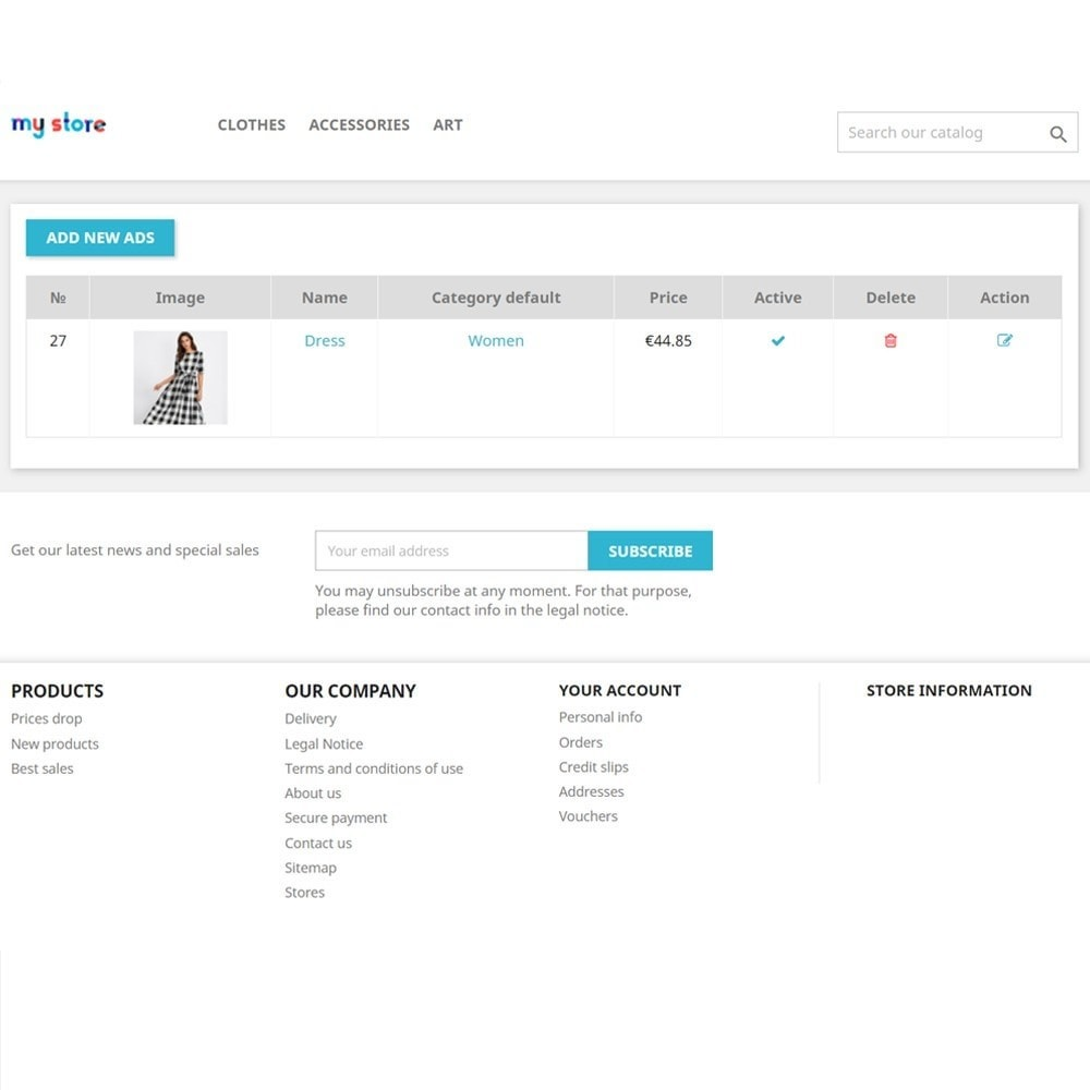 module - Creazione Marketplace - Bulletin Board for clients - 5