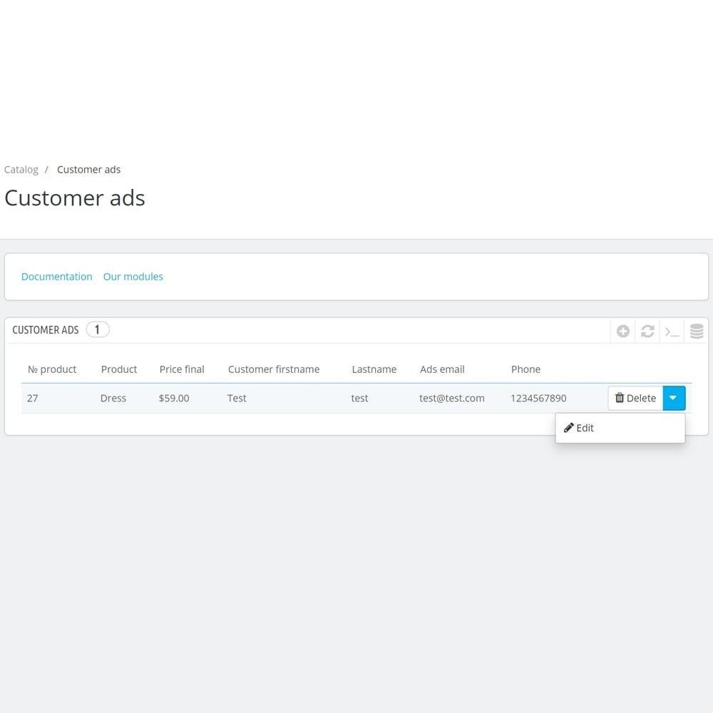 module - Creazione Marketplace - Bulletin Board for clients - 7