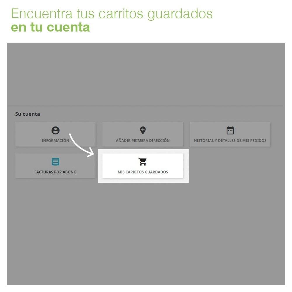 module - Gestión de Pedidos - Guarda tus carritos y envíalos por email - 3