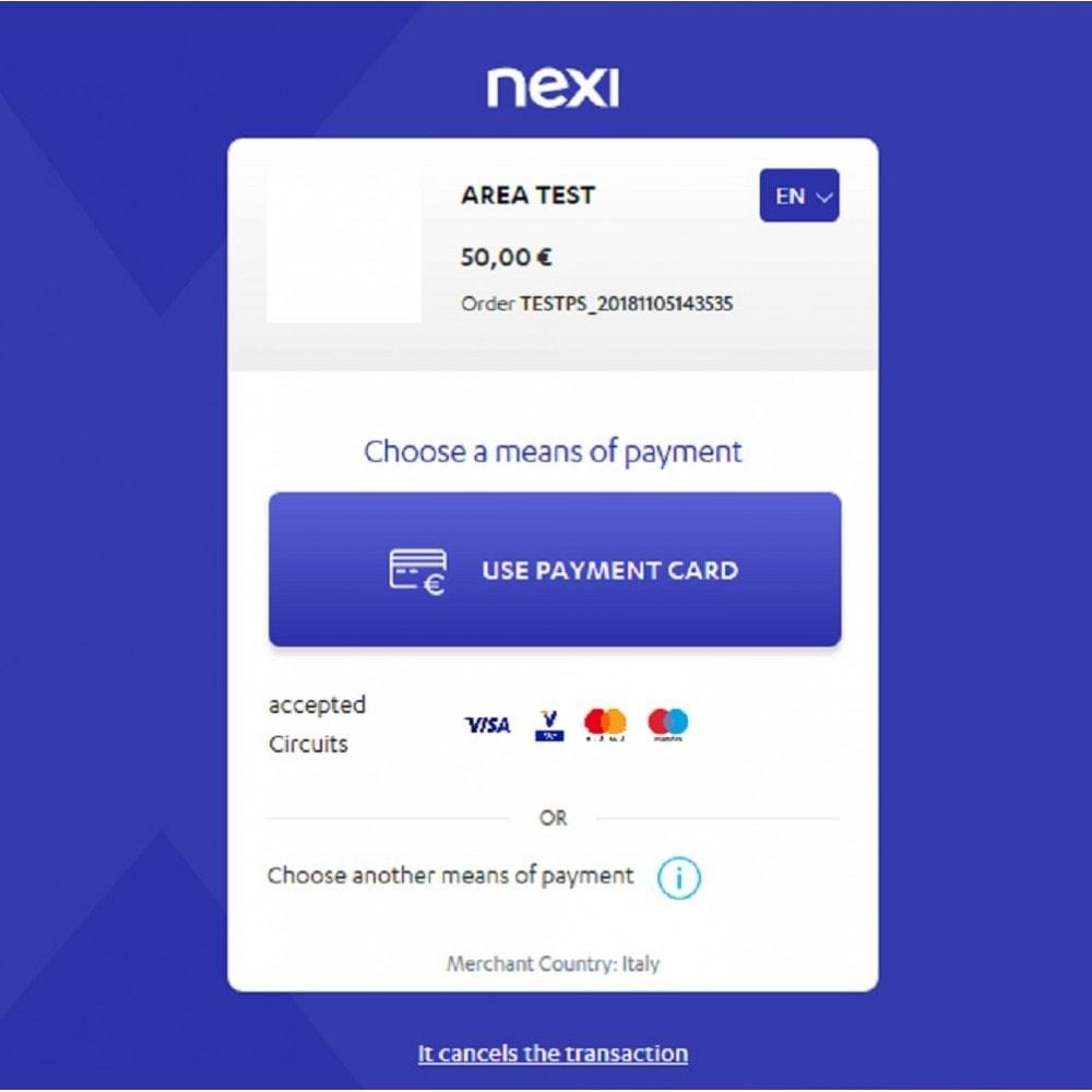 module - Płatność kartą lub Płatność Wallet - Nexi XPay - 3