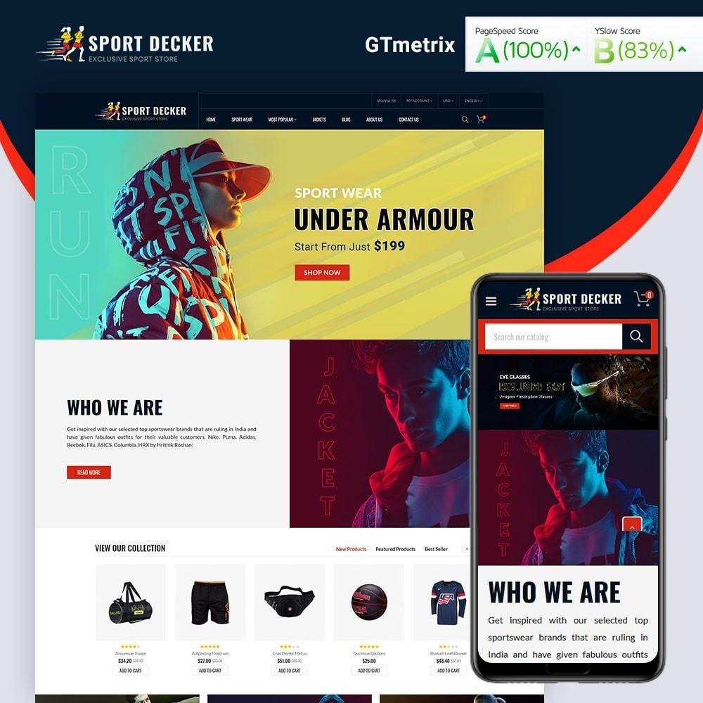 theme - Sport, Activiteiten & Reizen - Sport Decker Sport Store - 1