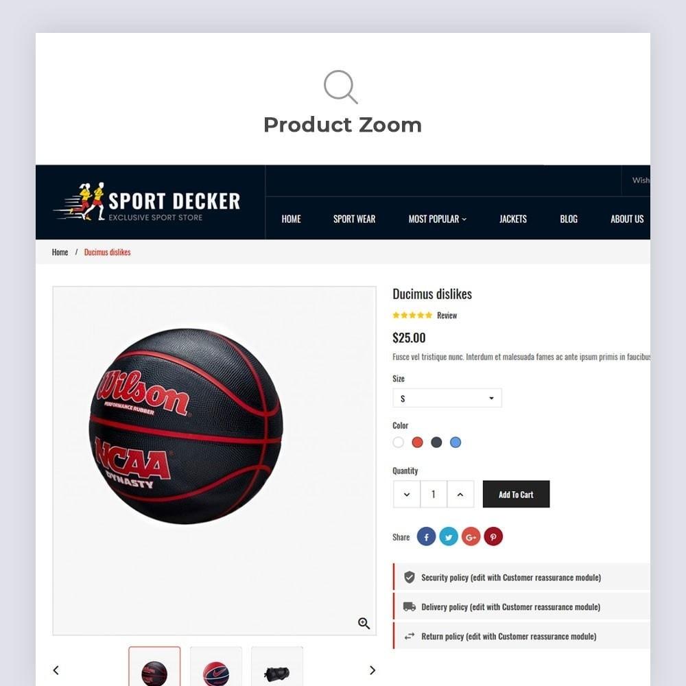 theme - Sport, Activiteiten & Reizen - Sport Decker Sport Store - 8
