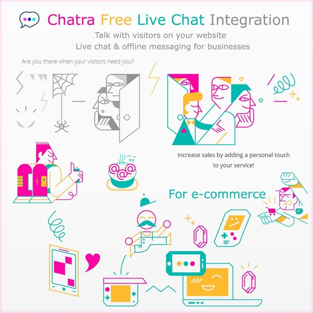 module - Wsparcie & Czat online - Chatra Free Live Chat Integration - 1