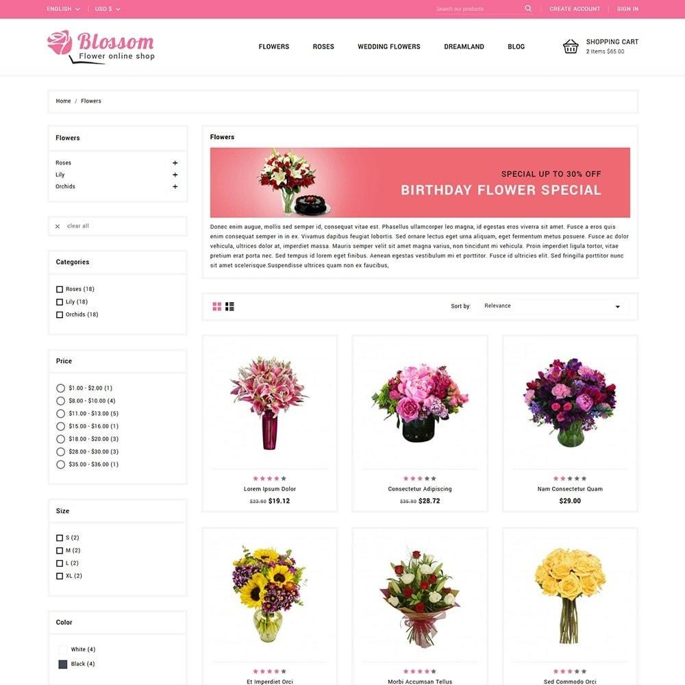 theme - Подарки, Цветы и праздничные товары - Blossom Flowers & Gifts Shop - 3