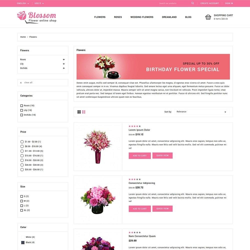 theme - Подарки, Цветы и праздничные товары - Blossom Flowers & Gifts Shop - 4