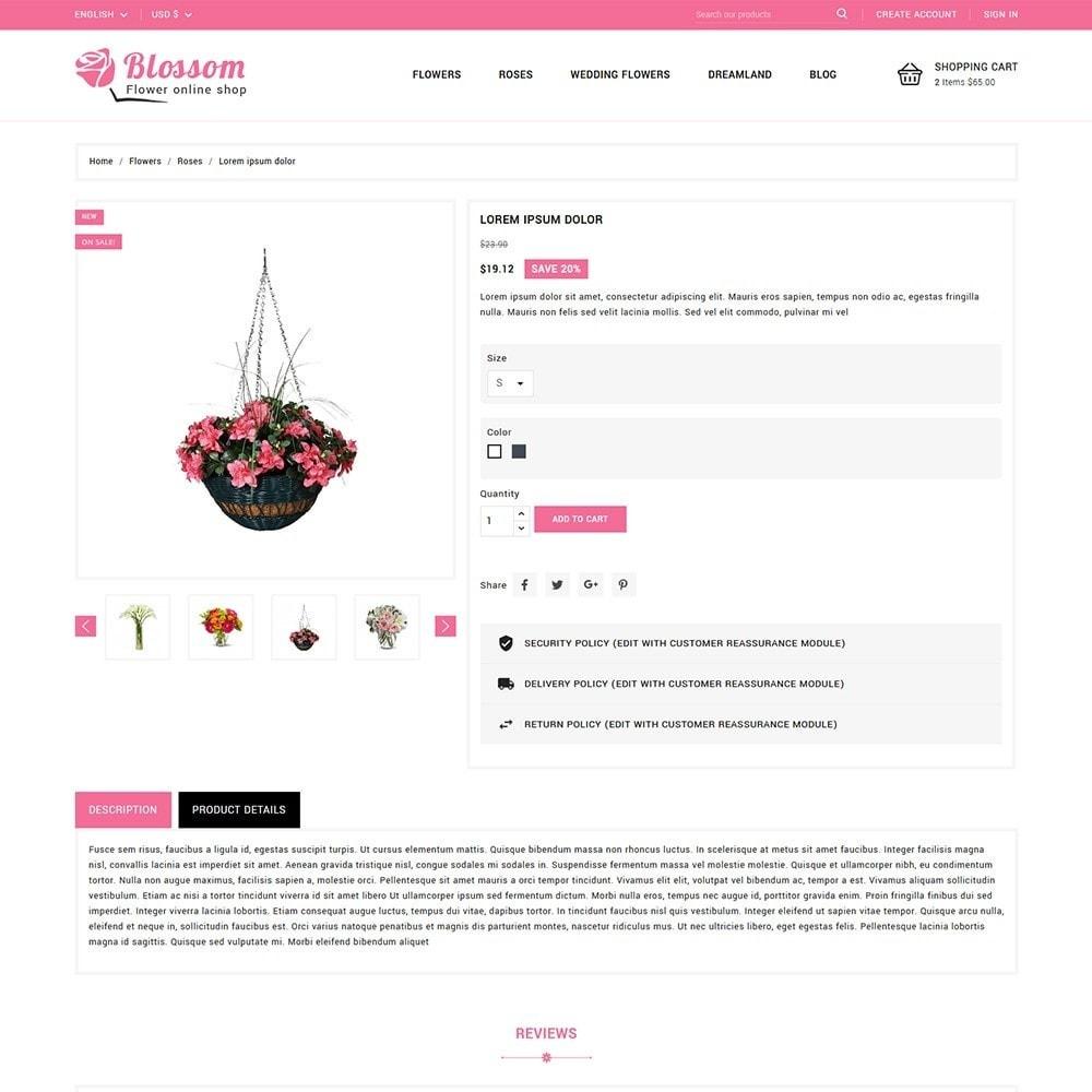 theme - Подарки, Цветы и праздничные товары - Blossom Flowers & Gifts Shop - 5
