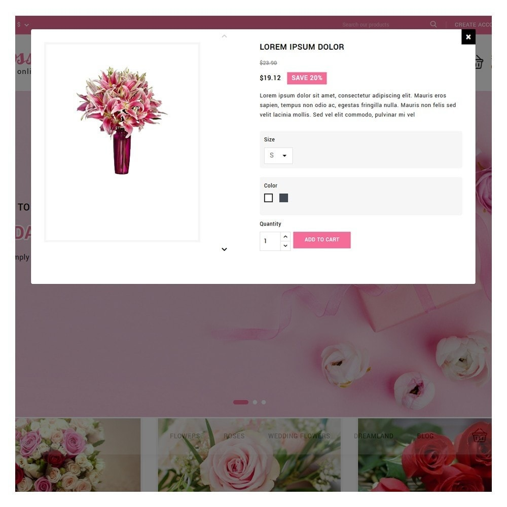 theme - Подарки, Цветы и праздничные товары - Blossom Flowers & Gifts Shop - 9