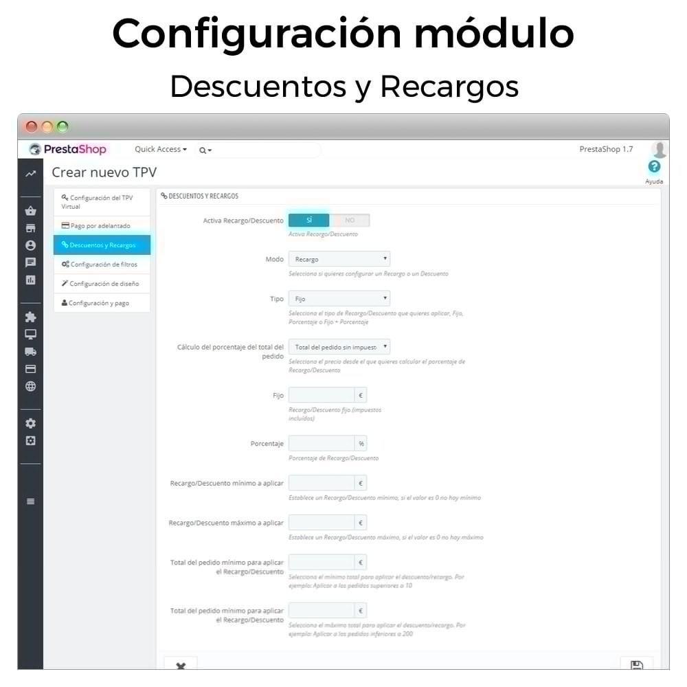module - Pago con Tarjeta o Carteras digitales - BBVA TPV Virtual Redsys (Devoluciones y Pago un Click) - 5