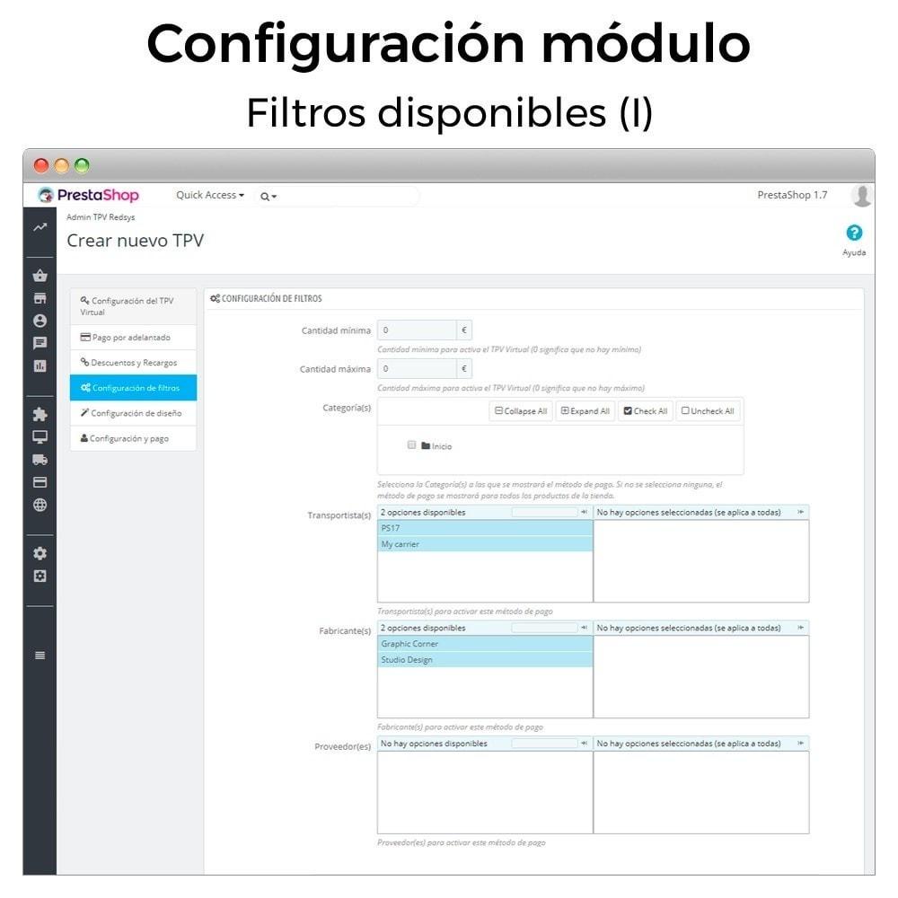 module - Pago con Tarjeta o Carteras digitales - BBVA TPV Virtual Redsys (Devoluciones y Pago un Click) - 7