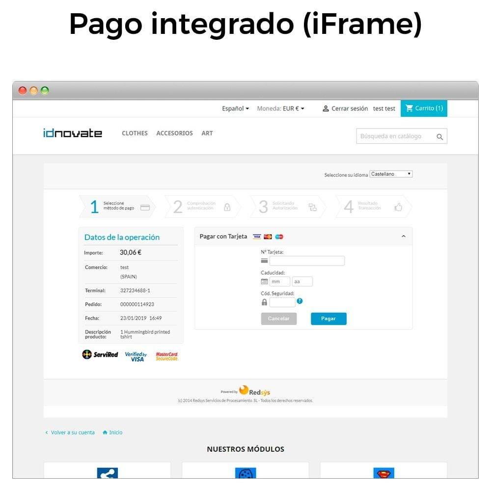 module - Pago con Tarjeta o Carteras digitales - BBVA TPV Virtual Redsys (Devoluciones y Pago un Click) - 10
