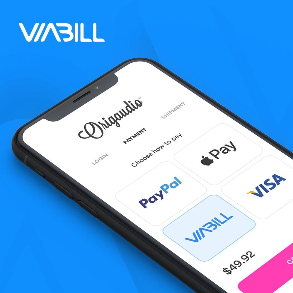 module - Płatność kartą lub Płatność Wallet - ViaBill Official – Try, before you buy! - 1