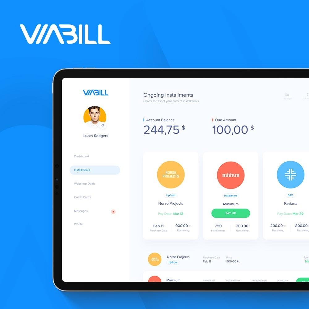 module - Płatność kartą lub Płatność Wallet - ViaBill Official – Try, before you buy! - 2