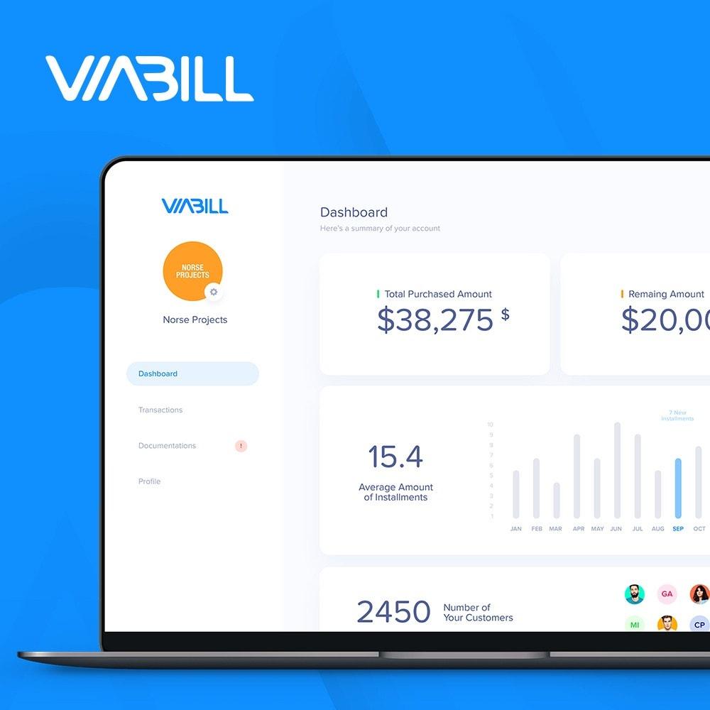 module - Płatność kartą lub Płatność Wallet - ViaBill Official – Try, before you buy! - 4