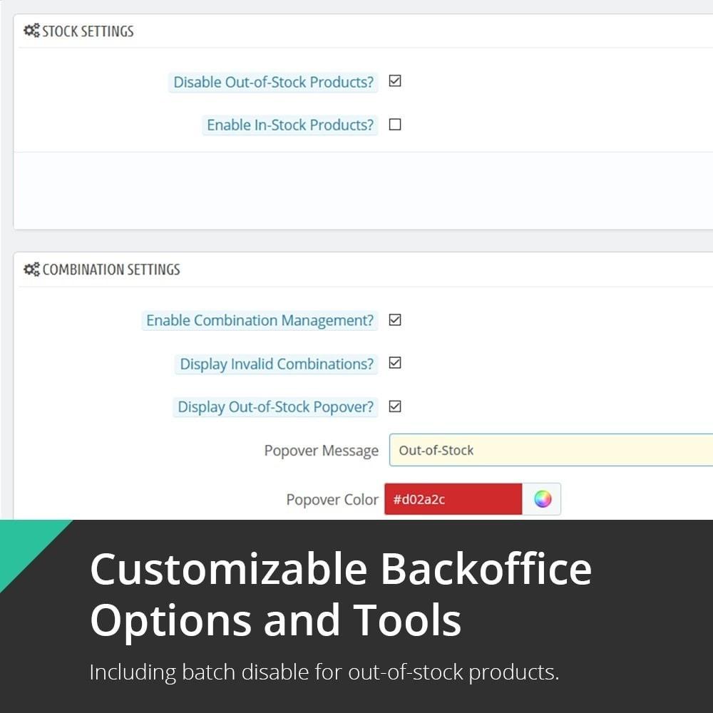 module - Estoques & Fornecedores - Unavailable Product & Combination Disabler - 3