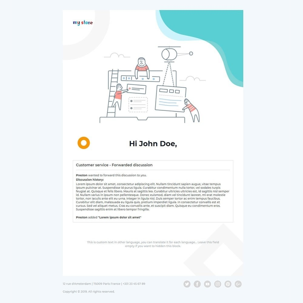 email - E-mailtemplates van PrestaShop - Kool - Premium Email Template - 3
