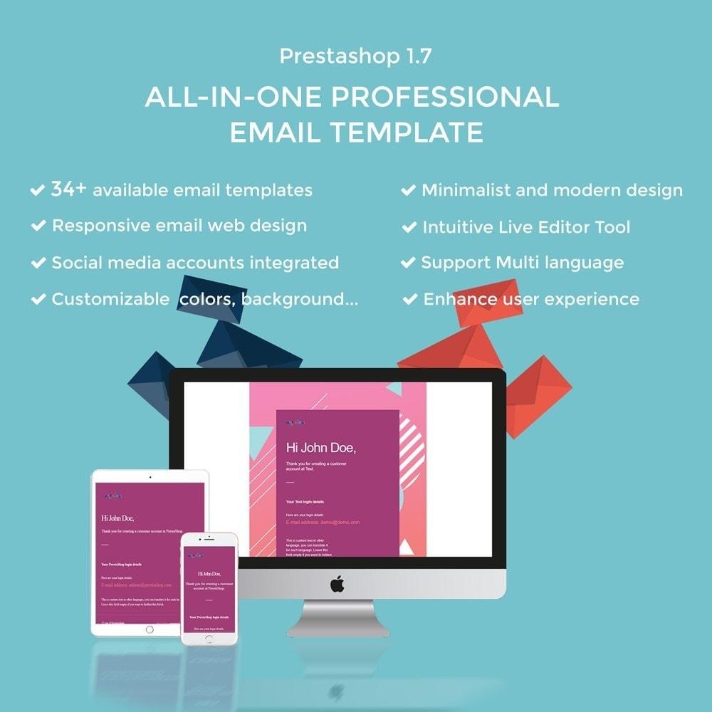 email - Plantillas de correos electrónicos PrestaShop - Ap Email Peace - 1