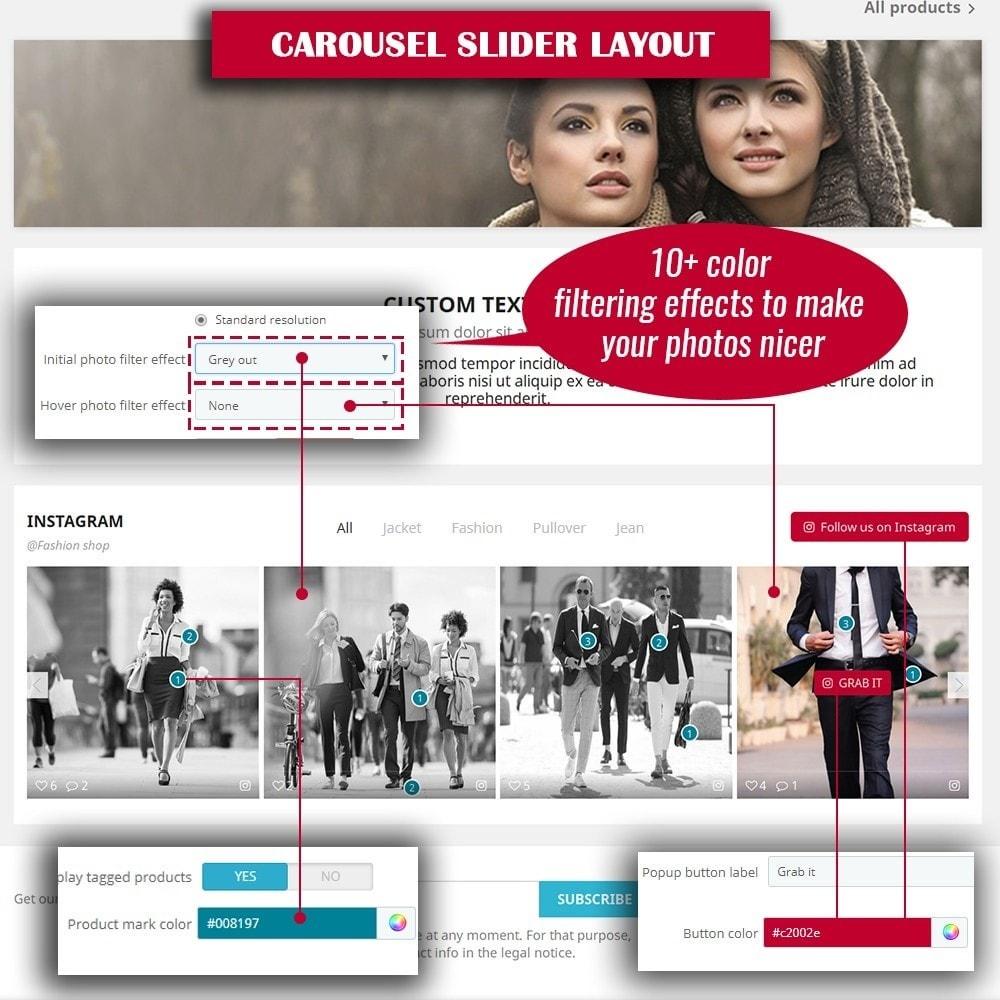 module - Sliders & Galerias - INS Shopping Slider - 7