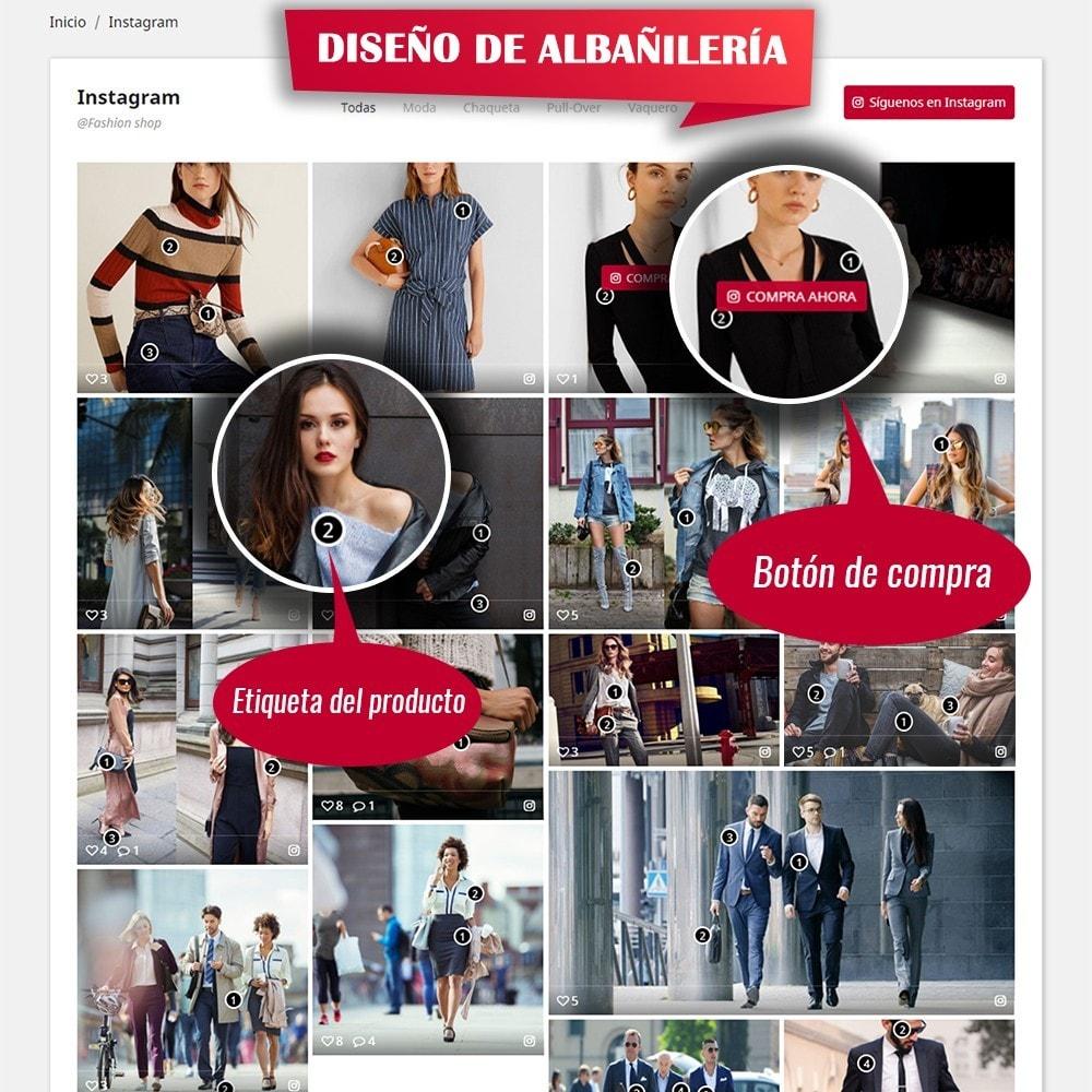 module - Sliders y Galerías de imágenes - INS Shopping Slider - Integración de redes sociale - 5