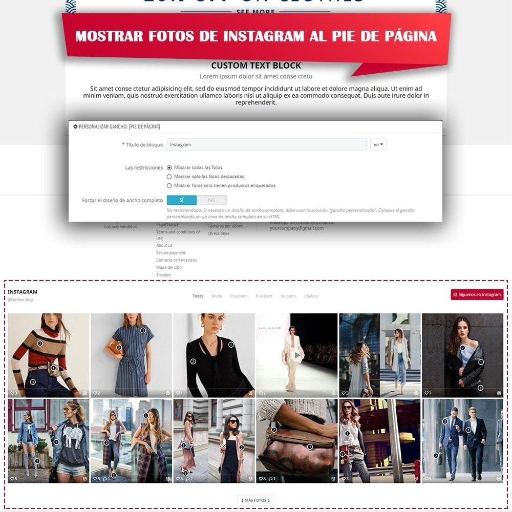 module - Sliders y Galerías de imágenes - INS Shopping Slider - Integración de redes sociale - 9