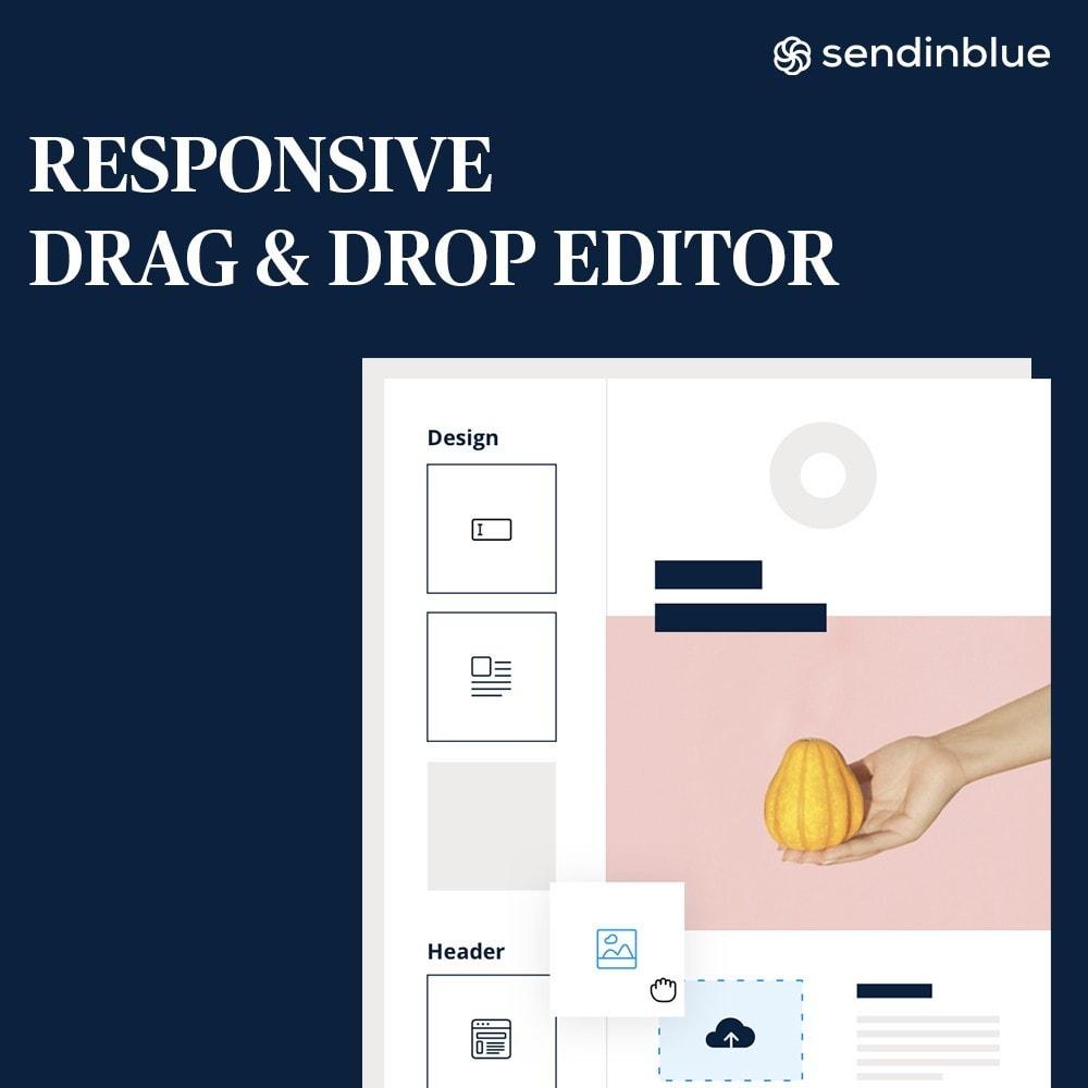 module - Newsletter & SMS - Sendinblue - All-in-one marketing tool - 3