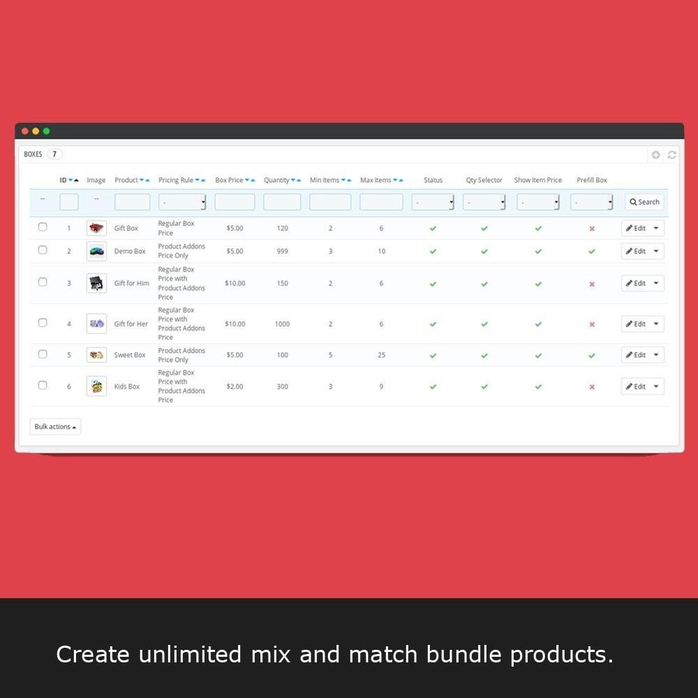 module - Перекрестные продажи и Создание комплектов - Ultimate Product Bundle - Mix and Match - 7