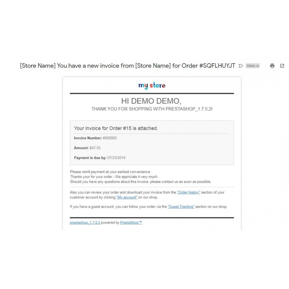 module - Paiement par Facture - Professional Invoice, Billing Payment - Pay by Invoice - 10