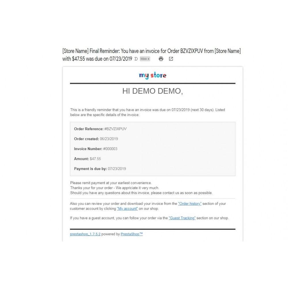 module - Paiement par Facture - Professional Invoice, Billing Payment - Pay by Invoice - 12
