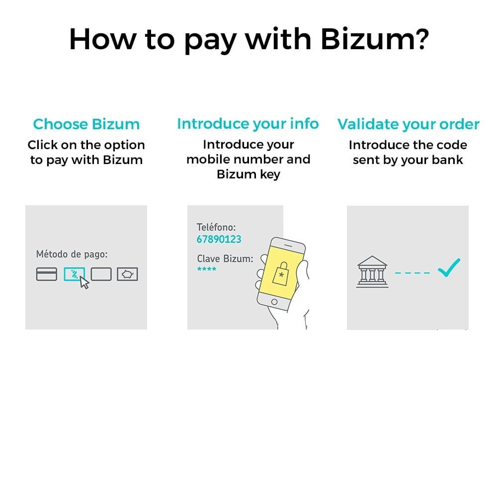 module - Pagamento con Carta di Credito o Wallet - Bizum - Mobile payment (with fees and discounts) - 2