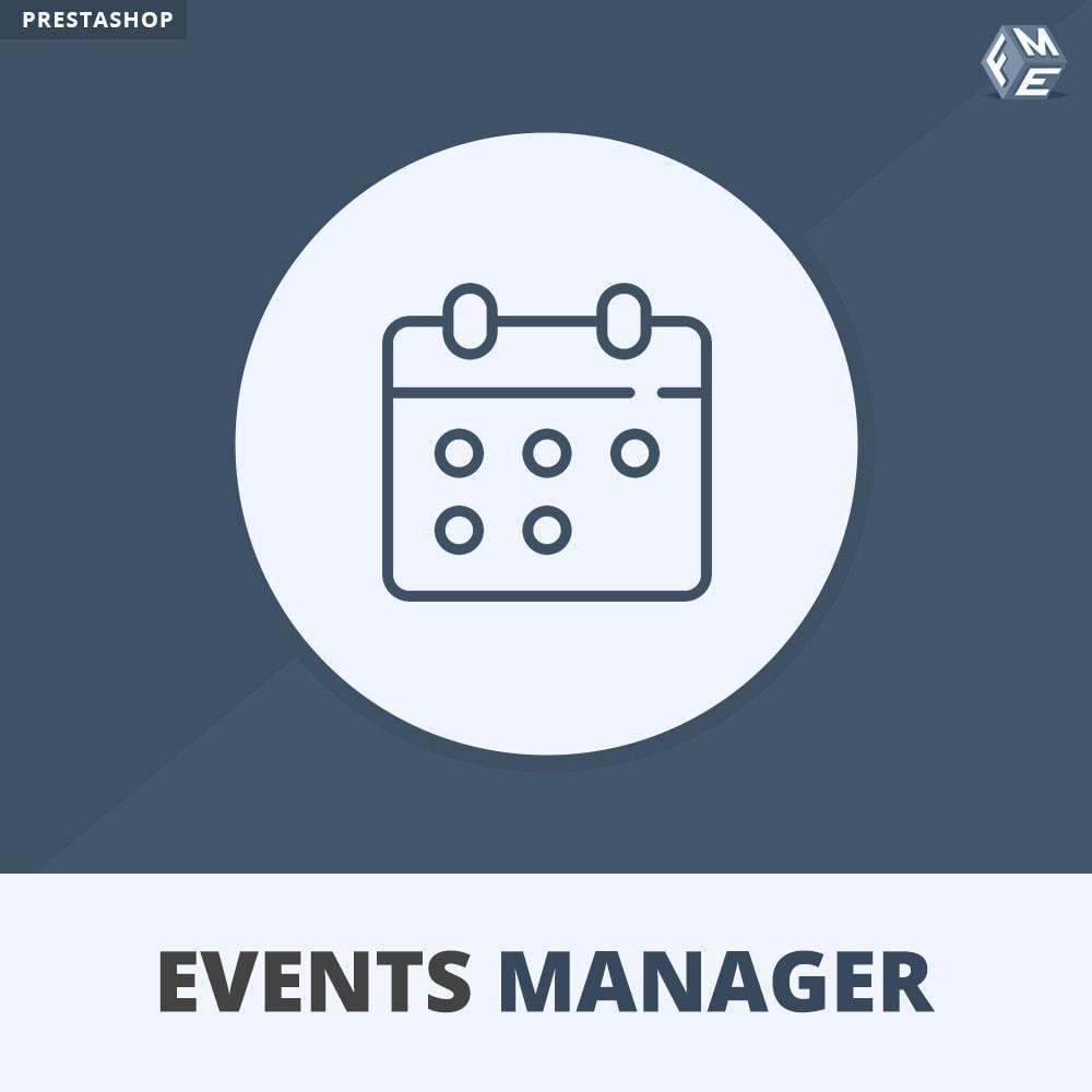 module - Prenotazioni & Noleggi - Manager degli Eventi, Crea Eventi & Vendi biglietti - 1