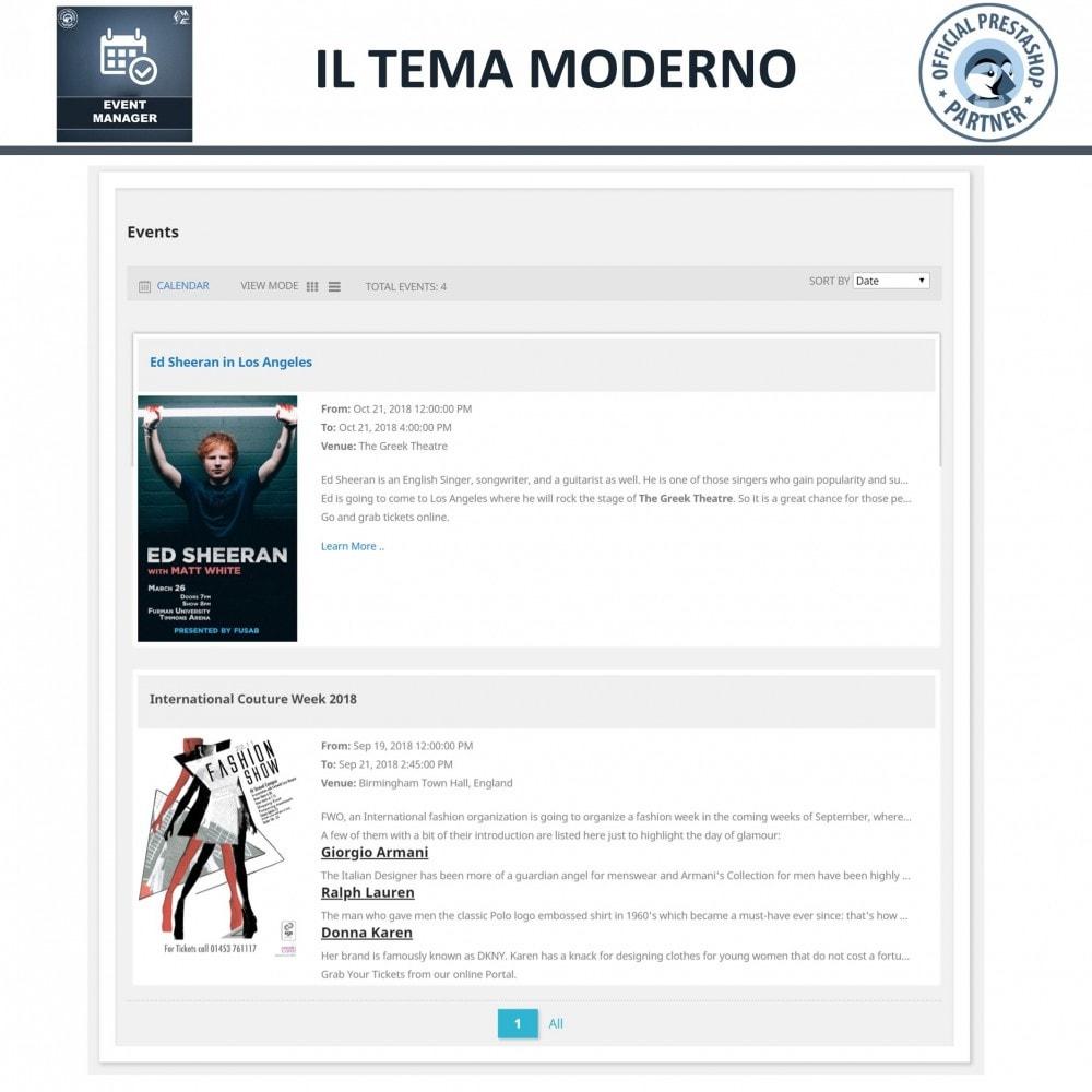 module - Prenotazioni & Noleggi - Manager degli Eventi, Crea Eventi & Vendi biglietti - 2