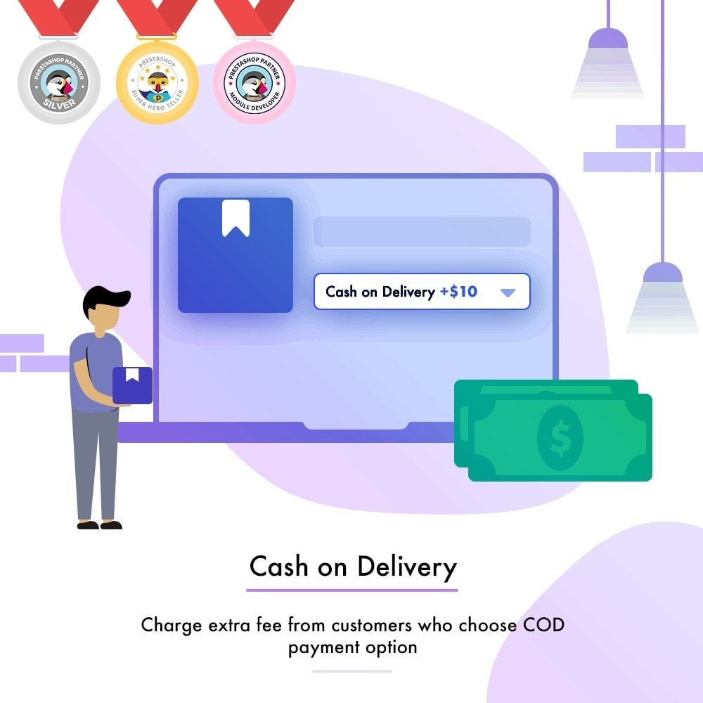 module - Оплата при доставке - Cash On Delivery (COD)   Charge Additional Fee - 1