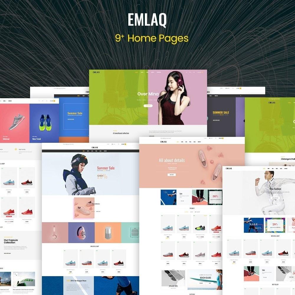 theme - Moda & Calçados - Elaq Fashion Sport Shoes Funiture - 1