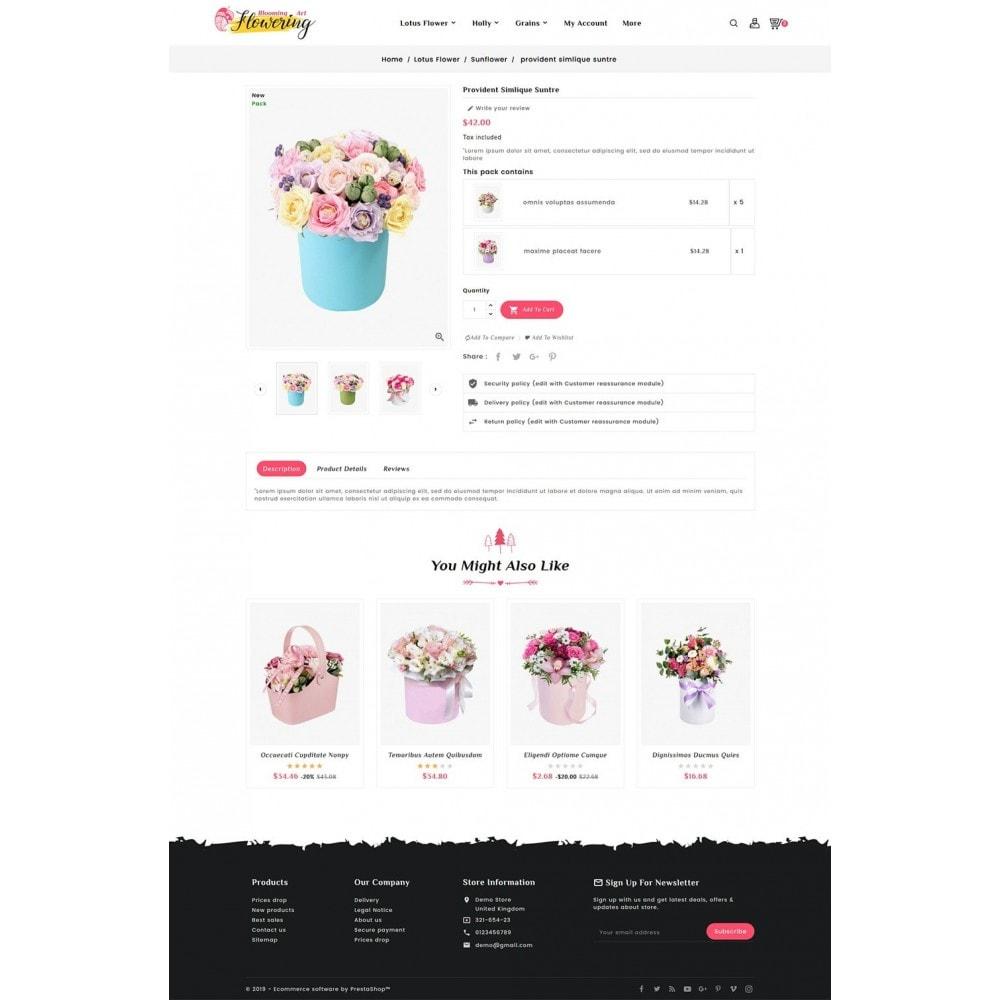 theme - Prezenty, Kwiaty & Uroczystości - Flowering - Blooming Art - 5