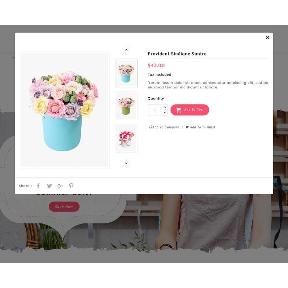 theme - Prezenty, Kwiaty & Uroczystości - Flowering - Blooming Art - 8