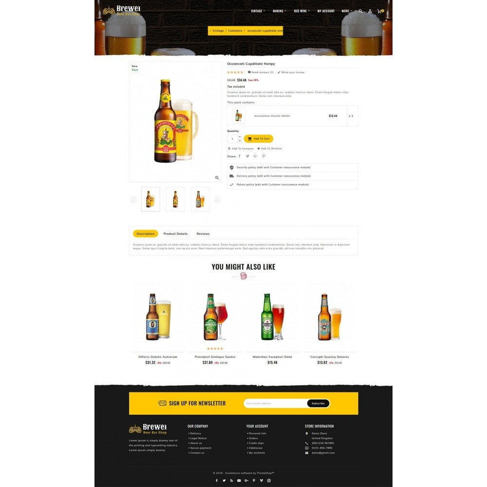 theme - Drink & Tobacco - Brewery - Beer Bar & Pub - 5