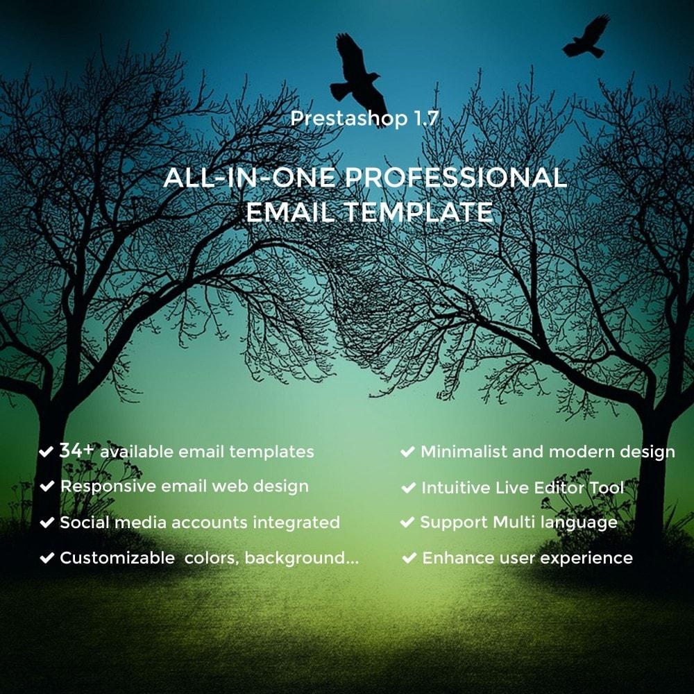 email - Plantillas de correos electrónicos PrestaShop - Vic - Professional responsive Email Template - 1
