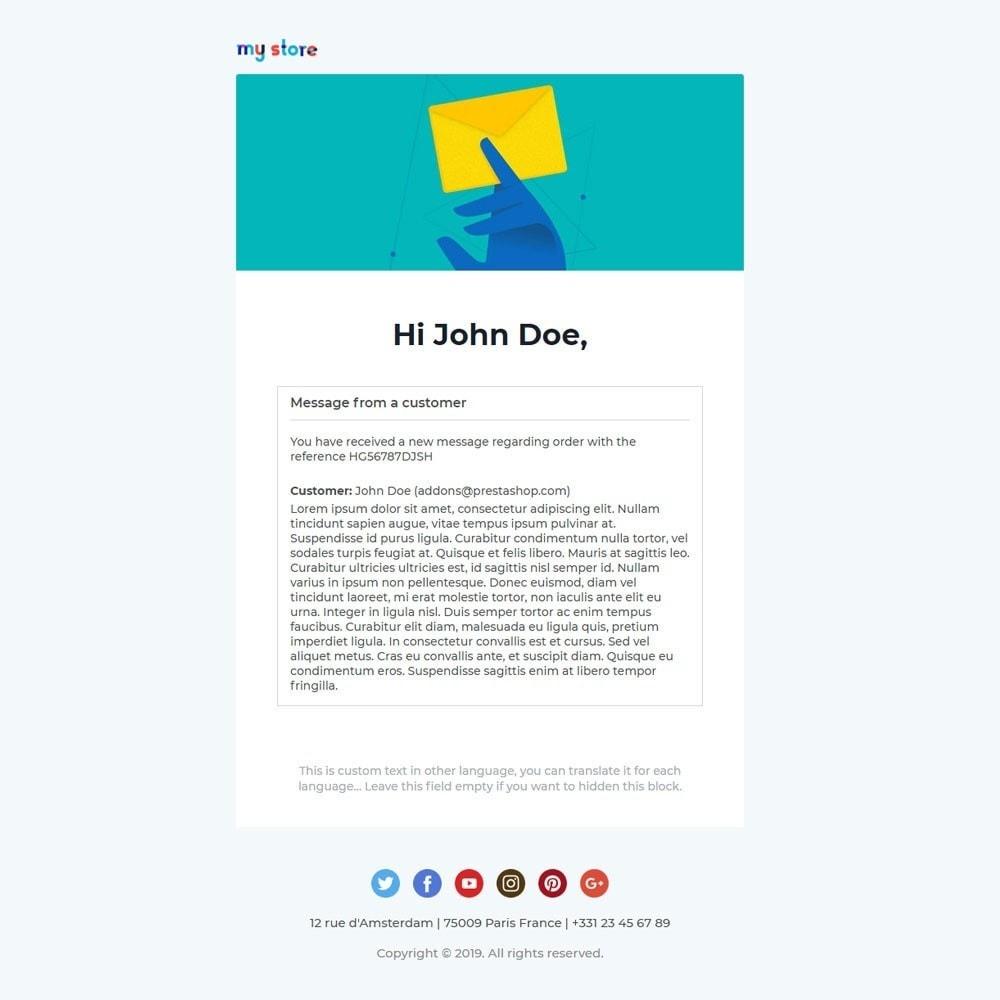 email - Plantillas de correos electrónicos PrestaShop - Vic - Professional responsive Email Template - 5