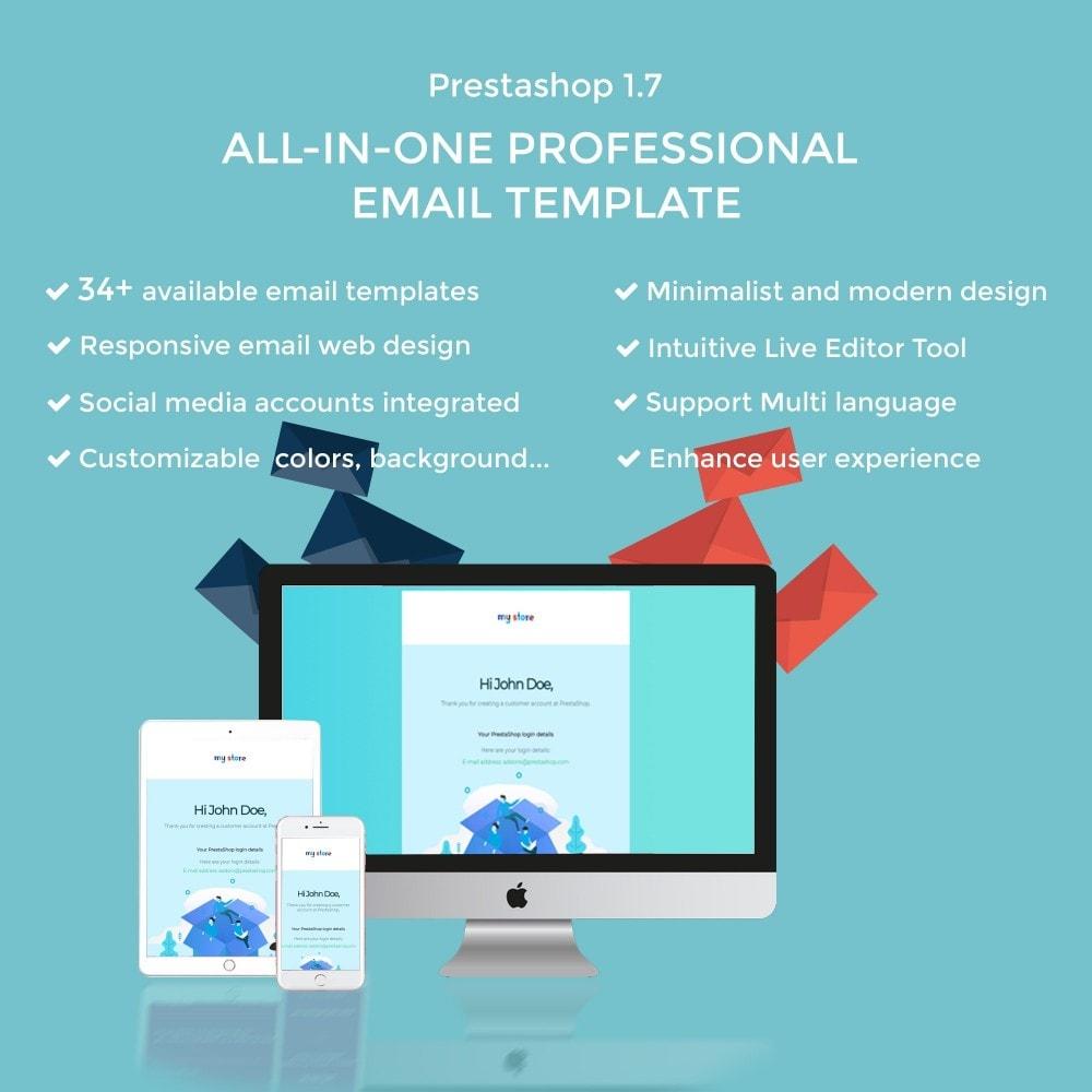 email - E-mailtemplates van PrestaShop - Ap Email Dove - 1