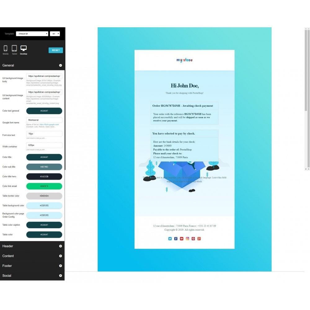 email - E-mailtemplates van PrestaShop - Ap Email Dove - 3