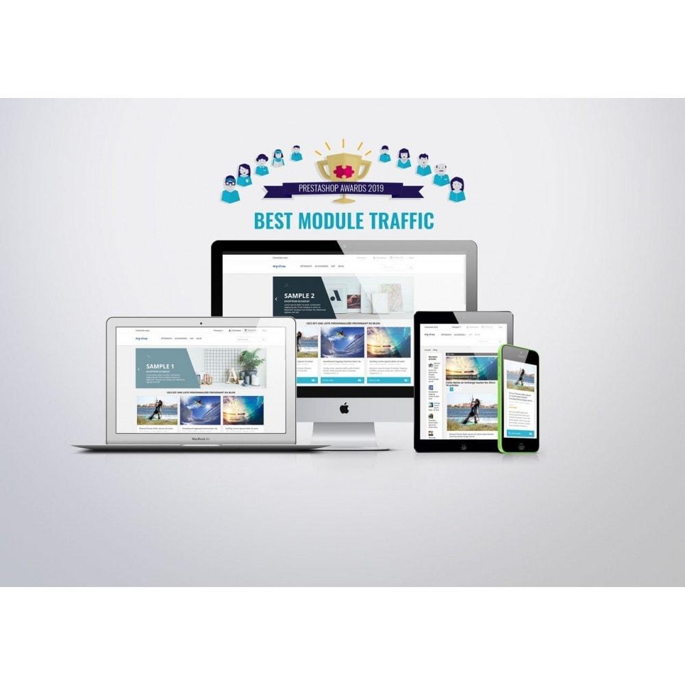 module - Блог, форумов и новостей - Prestablog : a professional blog for your shop - 1