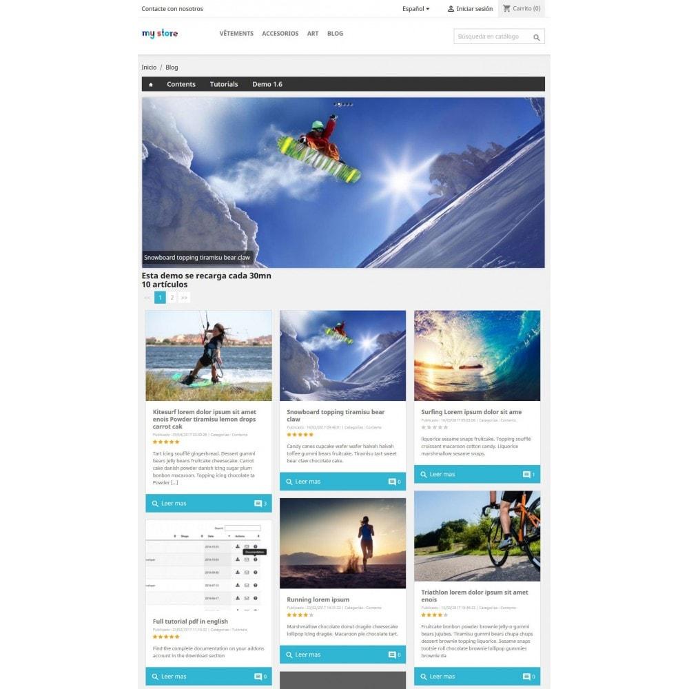 module - Blog, Foro y Noticias - Prestablog: un blog profesional para tu tienda - 5