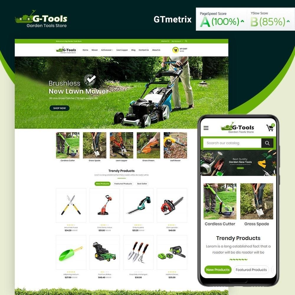theme - Hogar y Jardín - Gtools Garden Tools Store - 1
