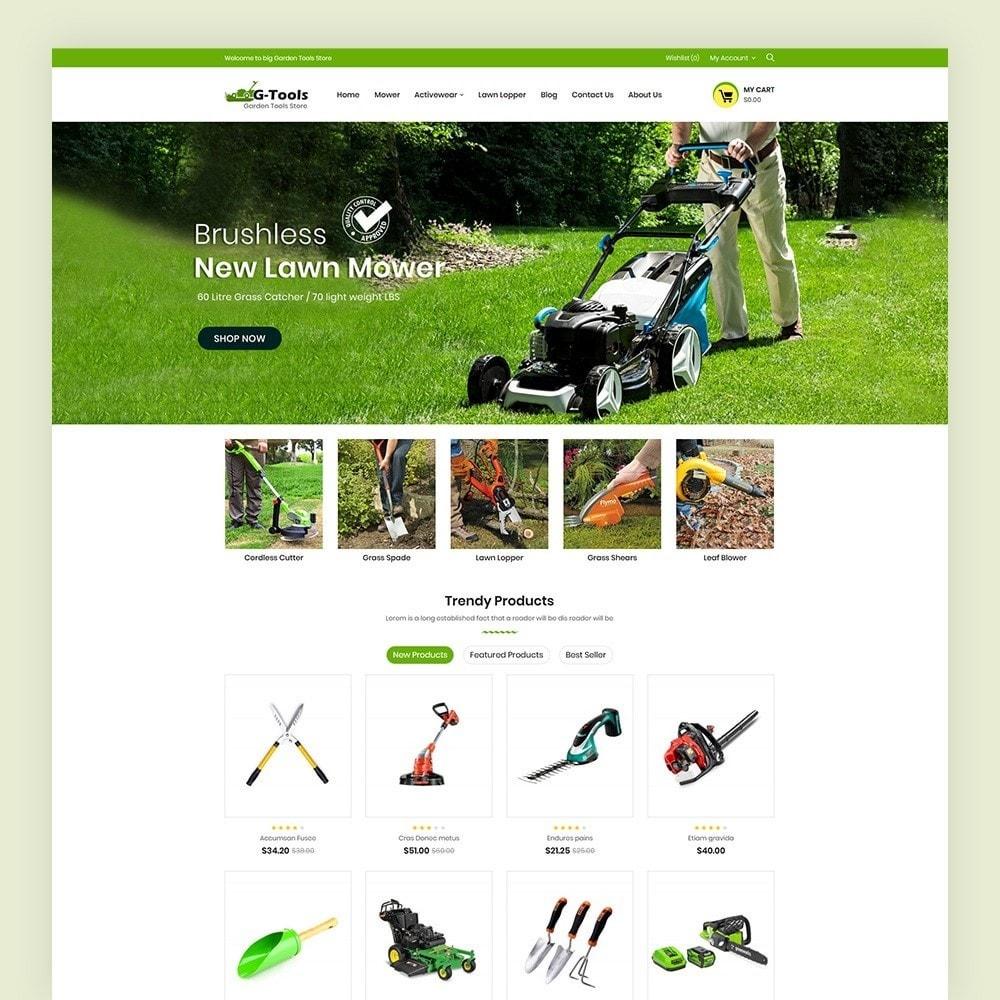 theme - Hogar y Jardín - Gtools Garden Tools Store - 2