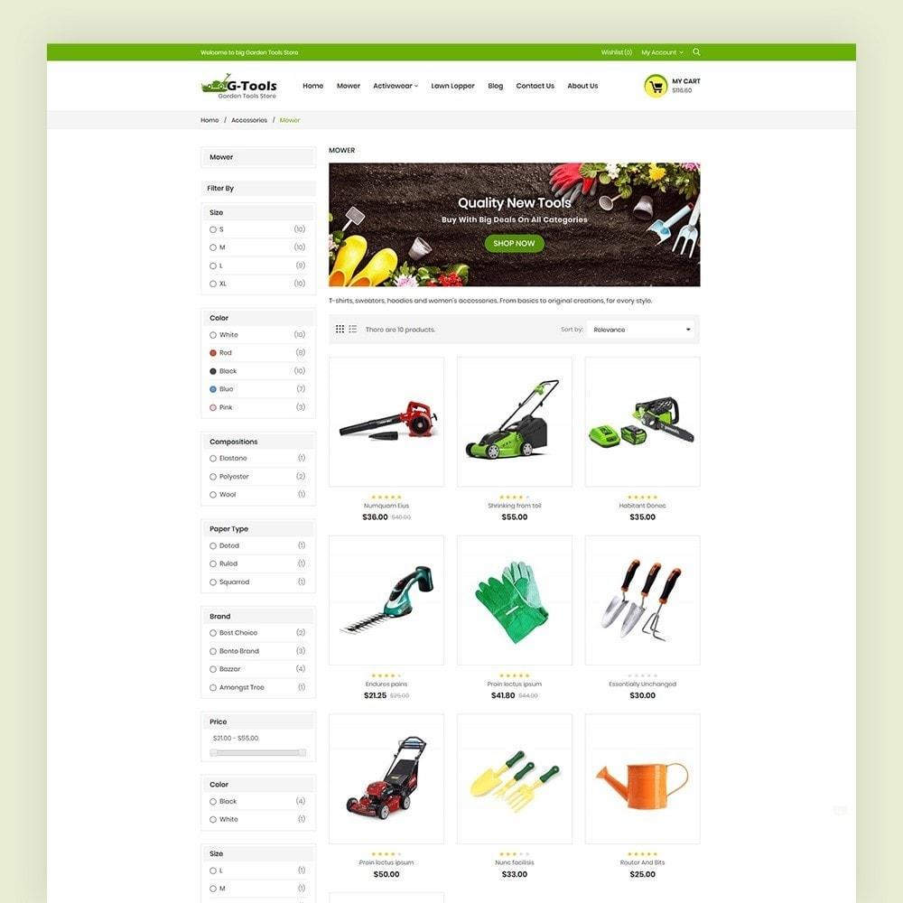 theme - Hogar y Jardín - Gtools Garden Tools Store - 5
