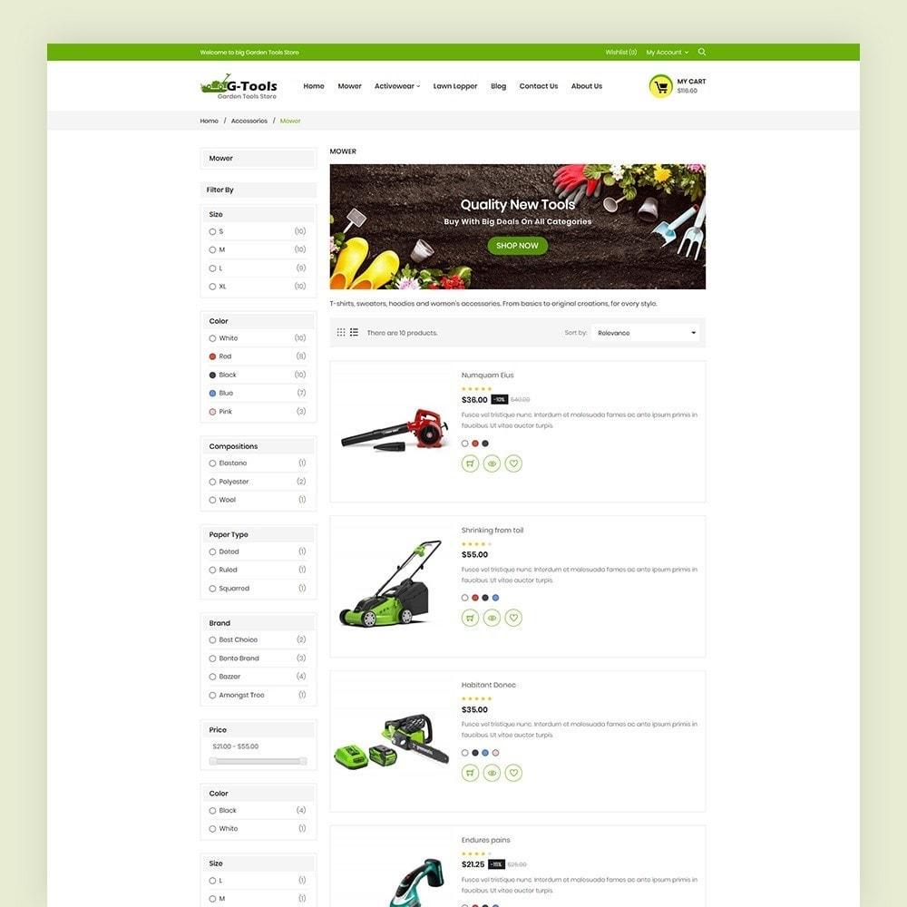 theme - Hogar y Jardín - Gtools Garden Tools Store - 6