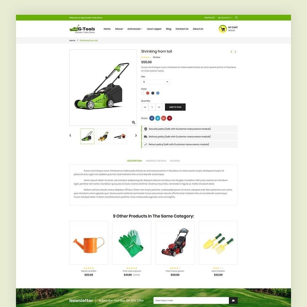 theme - Hogar y Jardín - Gtools Garden Tools Store - 7