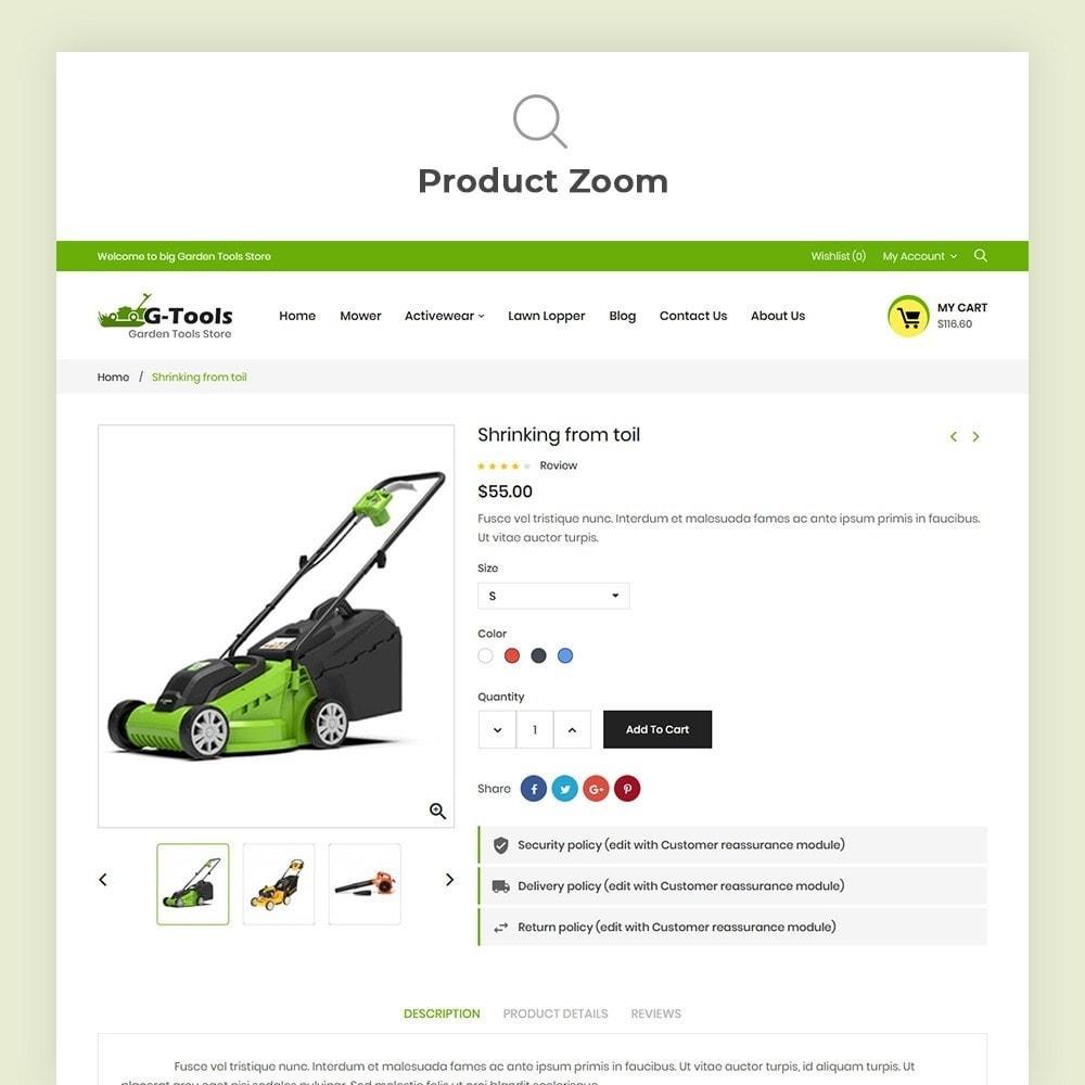 theme - Hogar y Jardín - Gtools Garden Tools Store - 8
